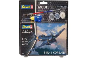 ModelSet letadlo 63955 - F4U-4 Corsair (1:72)