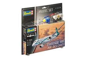 ModelSet letadlo 64884 - Embraer 195 Air Dolomiti (1:144)