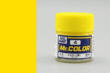 Mr. Color - C004: Žlutá lesklá