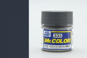 Mr. Color - C333: Extra tmavá mořská šedá BS381C/640 pololesklá