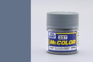 Mr. Color - C337: FS35237 šedavá modrá pololesklá