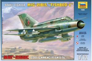 MIG-21 BIS Soviet Fighter (1:72) - 7259