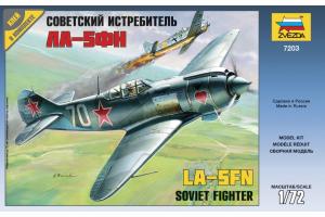 Lavotchkin LA-5 FN Soviet Fighter (1:72) - 7203
