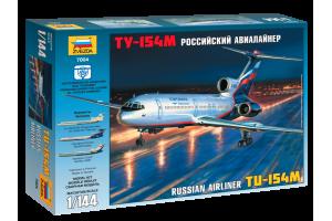 Tu-154M Russian Airliner (1:144) - 7004