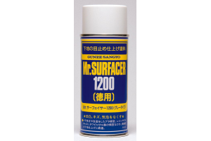 Mr. Primer Surfacer 1000 - tmel ve spreji 170ml - B524