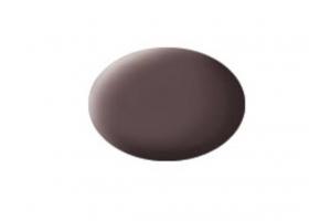 84: leather brown mat - Aqua
