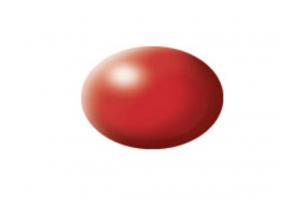 330: fiery red silk - Aqua