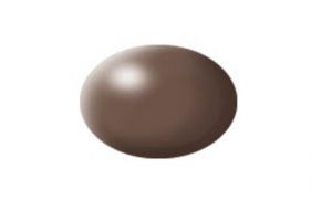 381: brown silk - Aqua