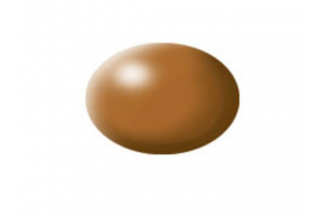 382: wood brown silk - Aqua