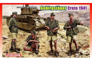 Model Kit figurky 6742 - GEBIRGSJAGER (CRETE 1941) (1:35)
