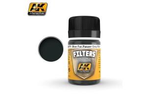 Blue for Panzer Grey Filter - AK071