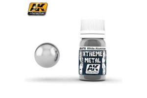 478 - XTREME METAL WHITE ALUMINIUM