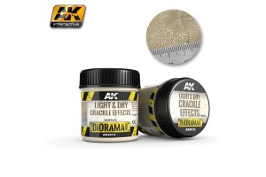 Light & Dry Crackle Effects 100ml - AK8033