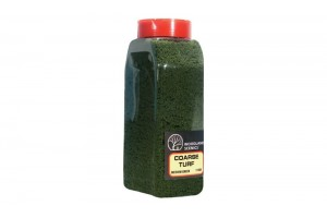 Hrubý zelený trávník (Coarse Turf Medium Green Shaker) - T1364