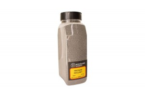Jemný šedý štěrk (Gray Fine Ballast Shaker) - B1375