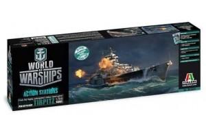 Model Kit World of Warships 46504 - TIRPITZ (1:700)