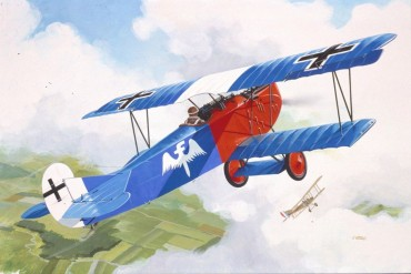 Fokker D VII  (1:72) -  04194
