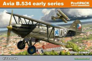 Avia B-534 early version DUAL COMBO (1:72) - 70103