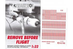 Stencils - Remove before flight (1:32) - S32009