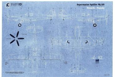 Stencils - Spitfire F Mk.XIV (1:48) - S48022