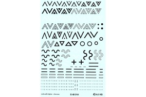 Stencils - Luftwaffe Chevrons (1:48) - S48014
