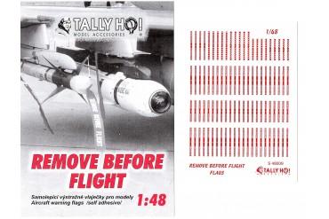 Stencils - Remove before flight (1:48) - S48009