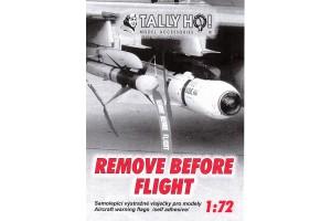 Stencils - Remove before flight (1:72) - S72009