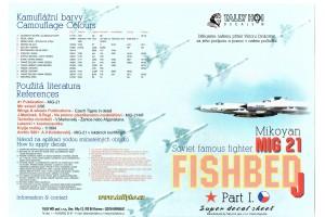 Decals - Mig-21 MF, SM, R (1:32) - 32003