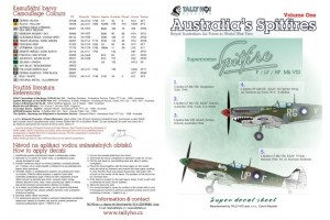 Decals - RAF Spitfires Mk.VIII, part 1 (1:48) - 48043