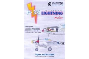Decals - P-38 Lighting, part 2 (1:48) - 48037