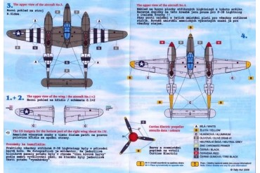 Decals - P-38 Lighting, part 2 (1:48) - 48037