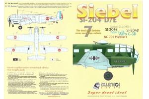 Decals - Siebel Si-204 D (1:48) - 48025