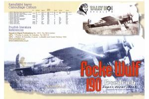 Decals - FW-190, F8 (1:48) - 48024