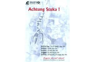 Decals - JU-87 Achtung Stuka! (1:48) - 48003