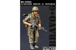 U.S. Infantry Private, Vietnam '68 - 35002