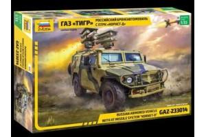 """GAZ with AT missile system """"Kornet D"""" (1:35) - 3682"""