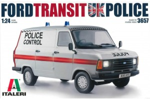 Ford Transit UK Police (1:24) - 3657