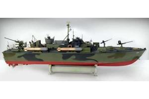 ELCO 80' TORPEDO BOAT  PT - 596 (1:35) - 5602