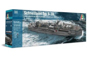 SCHNELLBOOT S-38 with Bofors (1:35) - 5620