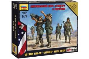 """Wargames (HW)  - US SAM FIM-92 """"Stinger"""" (1:72) - 7416"""