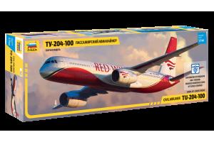 Tupolev TU - 204-100 (1:144) - 7023