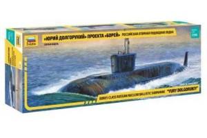 "Nuclear Submarine ""Yury Dolgorukiy"" (1:350) - 9061"