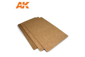 Cork Sheet 200x300x3mm fine grained - 8048