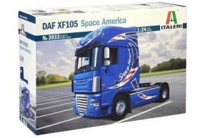DAF XF105 Space America (1:24) - 3933