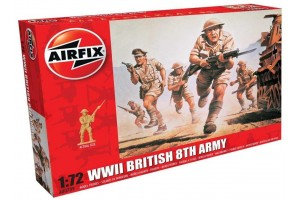 WWII British 8th Army (1:72) - A00709
