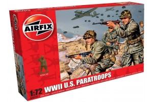 WWII US Paratroops (1:72) - A00751