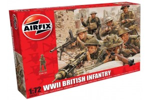 WWII British Infantry (1:72) - A00763