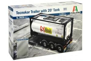 TECNOKAR TRAILER WITH 20' TANK (1:24) - 3929