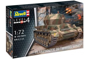 Flakpanzer IV Wirbelwind (2 cm Flak 38)  (1:72) - 03267
