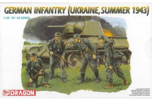 German Infantry (Ukraine, Summer 1943) (1:35) - 6153